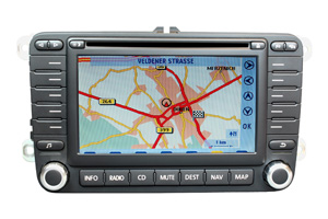 VW Touran 1 - RNS-MFD 2 Navigation Softwarefehler-Reparatur